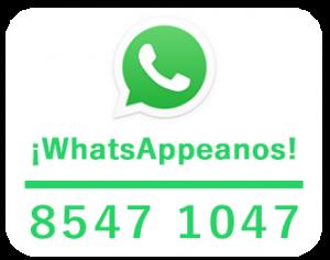 Envianos un Mensaje por WhatsAPP